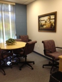This great little room is sponsored by the O'Gorman family . . . hence why it is called the O'Meeting room!