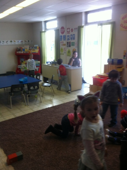 Our Kinder room.