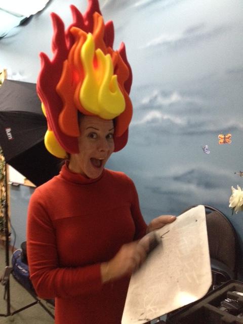 Flaming Ms. Jade