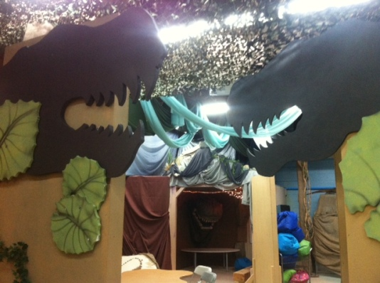 T-rex heads