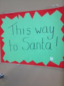 Then came Santa . . .