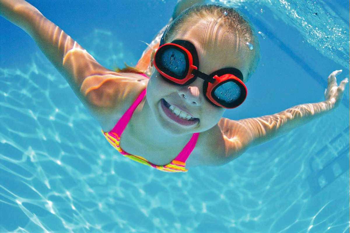 Swimming at InglewoodPool!